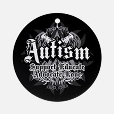 Autism Tribal 2 Ornament (Round)