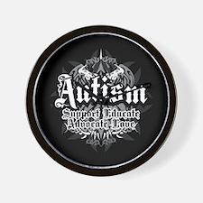 Autism Tribal 2 Wall Clock