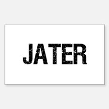 JATER Rectangle Decal