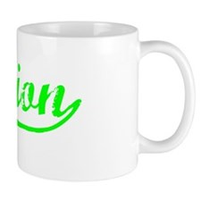 Vintage Damion (Green) Small Mug
