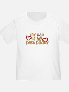 Pap is My Best Buddy T