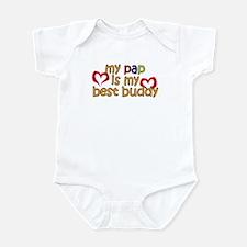 Pap is My Best Buddy Infant Bodysuit