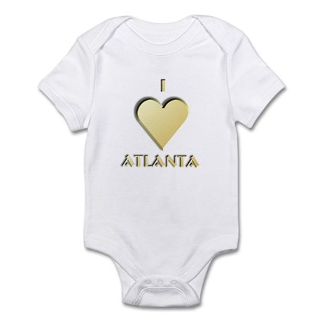 I Love Atlanta #9 Infant Bodysuit