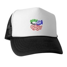 pow bam crash Hat