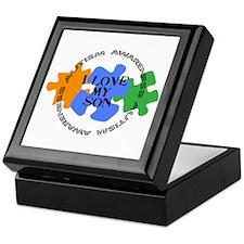 Autism Awrnss - Love Son Keepsake Box