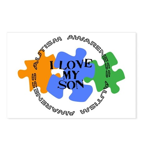 Autism Awrnss - Love Son Postcards (Package of 8)