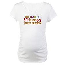 Papaw is My Best Buddy Shirt