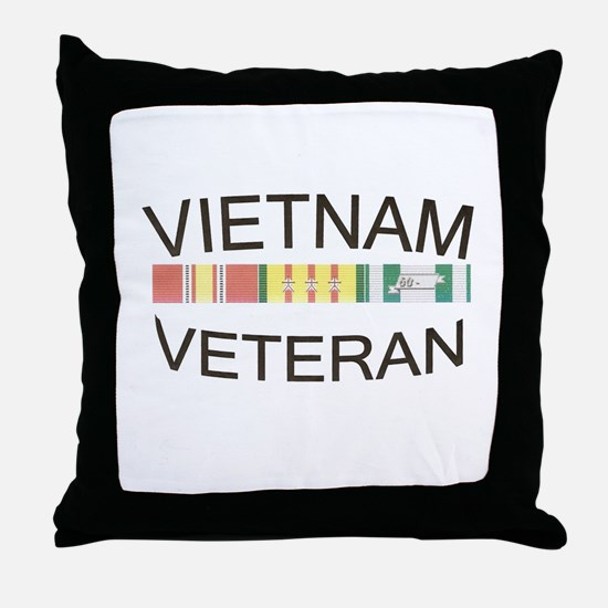 Cute Vietnam veteran Throw Pillow