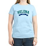 Helena Teal Banner Women's Light T-Shirt