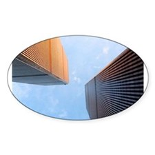 World Trade Center Oval Decal