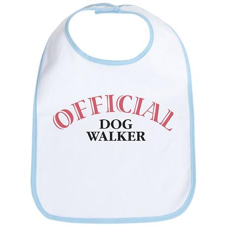 Official Dog Walker Bib