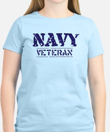 Navy Veteran Women's Light T-Shirt