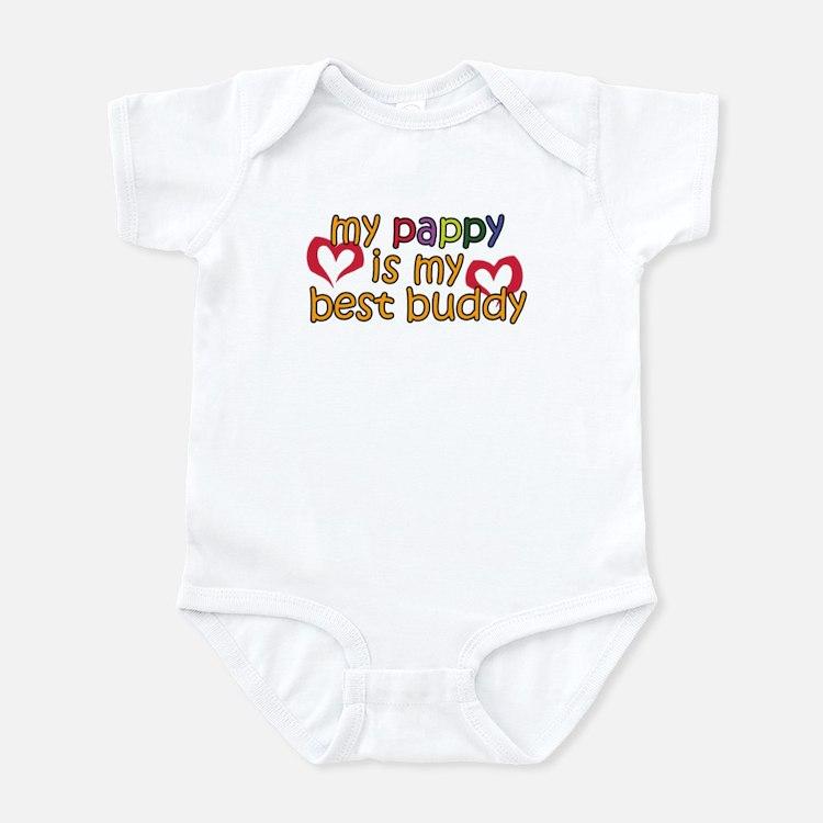 Pappy is My Best Buddy Infant Bodysuit