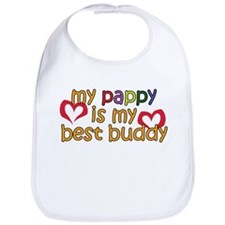 Pappy is My Best Buddy Bib