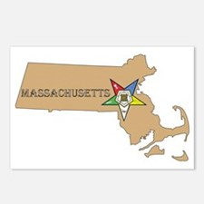 OES Massachusetts Postcards (Package of 8)