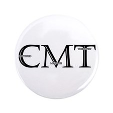 "Certified Massage Therapist 3.5"" Button"
