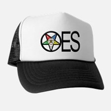 OES in a circle Trucker Hat