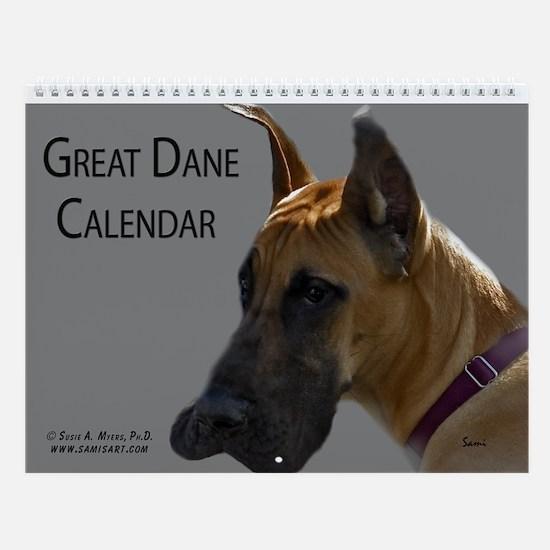 Great Dane Calendar Wall Calendar