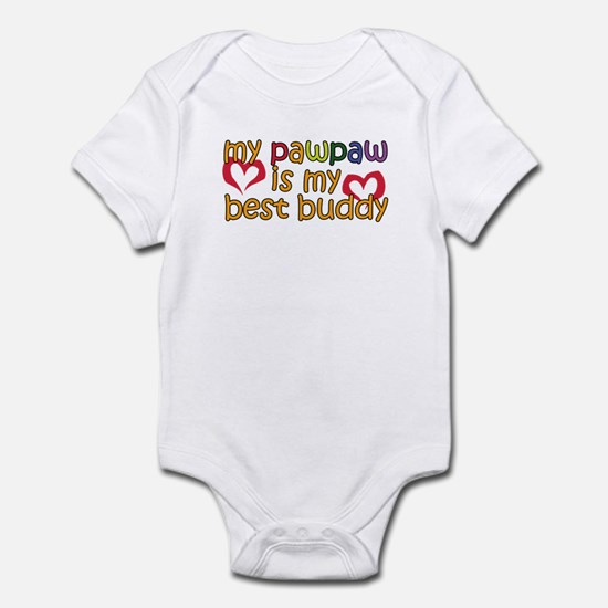 PawPaw is My Best Buddy Infant Bodysuit