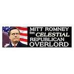 Mitt's Celestial Bumper Sticker