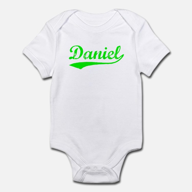 Vintage Daniel (Green) Infant Bodysuit