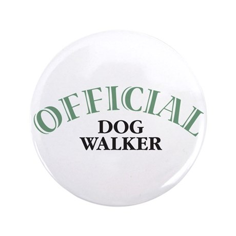 "Dog Walker 3.5"" Button (100 pack)"