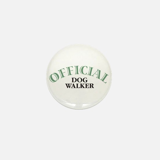 Dog Walker Mini Button
