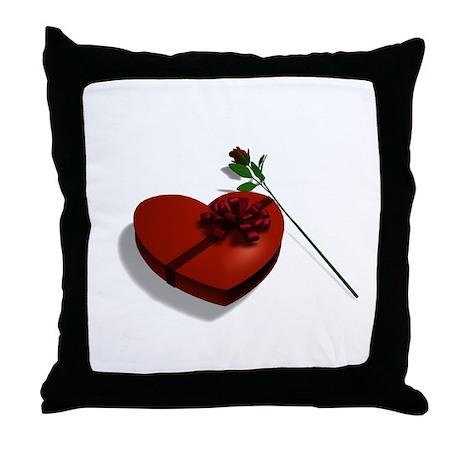 Valentine Chocolates - Throw Pillow