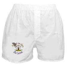 """""""There's No Place Like Home"""" Boxer Shorts"""
