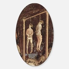 Pisanello Gallows Oval Decal