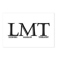 Licensed Massage Therapist Postcards (Package of 8