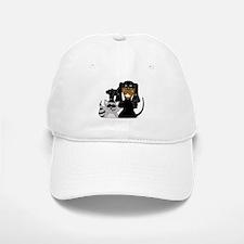 Coonhound and Raccoon Baseball Baseball Cap