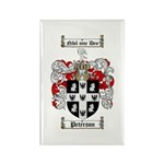 Peterson Family Crest Rectangle Magnet (10 pack)