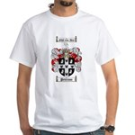 Peterson Family Crest White T-Shirt
