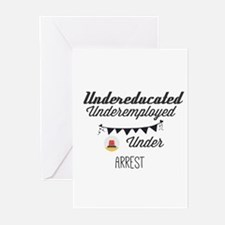 Undereducated. Underemployed. Under Greeting Cards