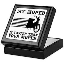 My Moped Keepsake Box