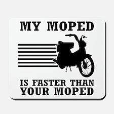 My Moped Mousepad