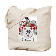 Perkins Family Crest Tote Bag