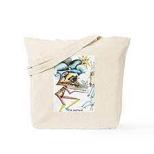 Alien War Tote Bag