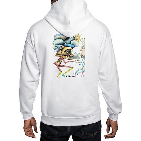 Alien War Hooded Sweatshirt
