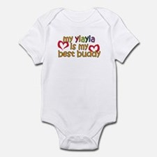 YiaYia is My Best Buddy Infant Bodysuit