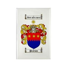 Pearson Family Crest Rectangle Magnet (10 pack)