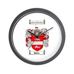 Payne Family Crest Wall Clock