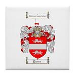 Payne Family Crest Tile Coaster