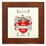 Payne Family Crest Framed Tile