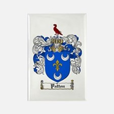 Patton Family Crest Rectangle Magnet (10 pack)
