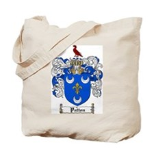 Patton Family Crest Tote Bag