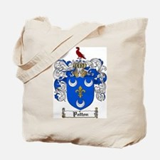 Patton Family Crest Tote Bag