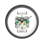 Patterson Family Crest Wall Clock