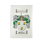 Patterson Family Crest Rectangle Magnet (10 pack)